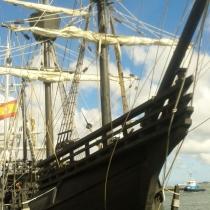 'Spanish globe-trotting ship captures imagination at Maritime fest'