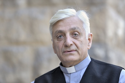 Chaldean Catholic Bishop Antoine Audo of Aleppo, Syria, is pictured in Aleppo in a 2008 file photo. (CNS photo/Paul Jeffrey) (March 22, 2013) See SYRIA-AUDO March 22, 2013.