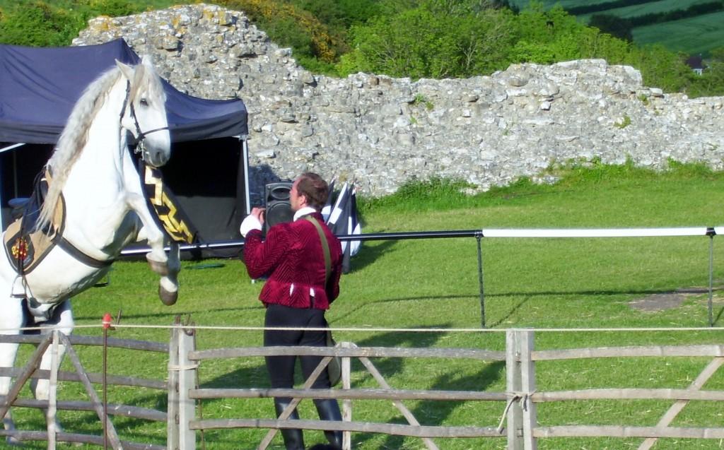 Horse trick