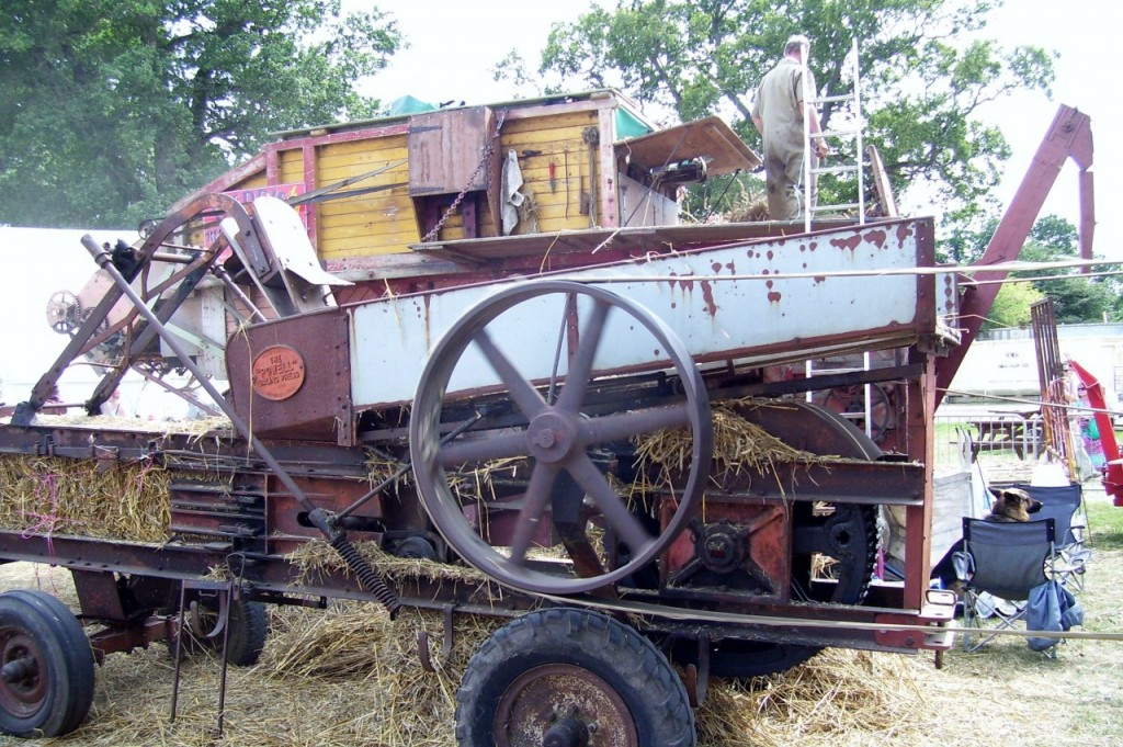 Threshing machine 2