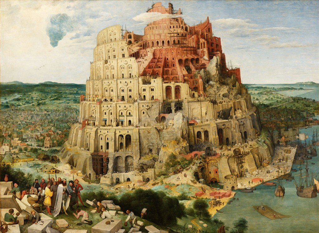 Tower of Babel Peter Breughel
