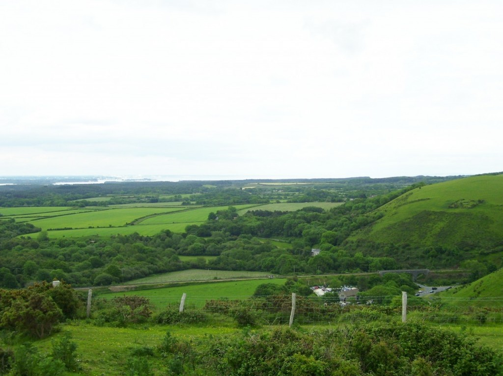 View from Corfe