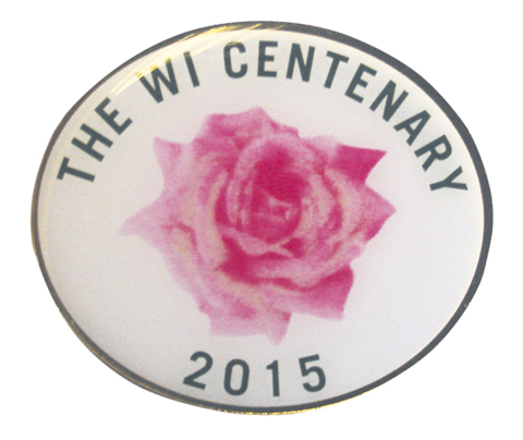 WI Centenary badge